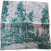Northwoods Cotton Handkerchief