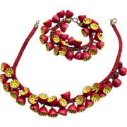 Wooden Haskell Cha Cha Necklace & Bracelet