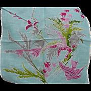 Print Fish Handkerchief