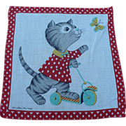 Kitten Handkerchief