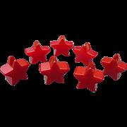 Bakelite Star Candle Holders