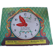 Clock Nursery Rhyme Children Handkerchiefs