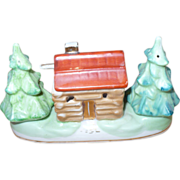 Cabin Trees Condiment Set