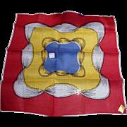 Colorful Unusual Handkerchief
