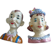 Four Eyes Man & Woman Salt & Pepper Set