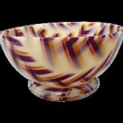 Mid Century Acrylic Bowl