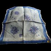 Jeanne Miller Jewelry Handkerchief