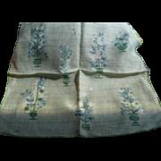 Jeanne Miller Floral Handkerchief