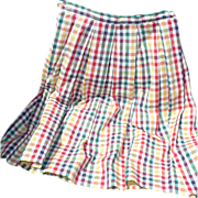 1960's Pedal Pushers Skirt