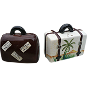 Suitcase Salt & Pepper Set
