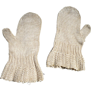 Victorian Baby or Doll Mittens