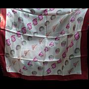 Echo Seashell Silk Scarf