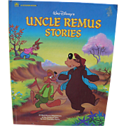 1986 Uncle Remus Stories Book