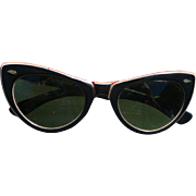 1960's Cats Eye Sunglasses