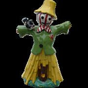 Scarecrow Ceramic Liquor Bottle