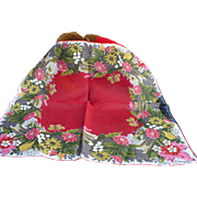Billie Kompa Floral Handkerchief