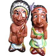Indian Man & Woman Salt & Pepper