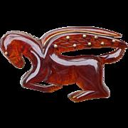Bakelite Pegasus Pin