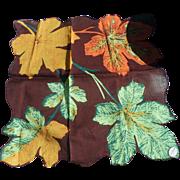 Autumn Leaves Handkerchief