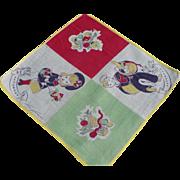 Saturday Tom Lamb Handkerchief