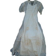 1900 Wedding Dress & Slip