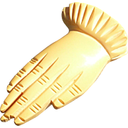 Bakelite Hand Clip