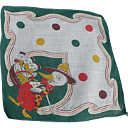 Tom Lamb Ducklings Handkerchief