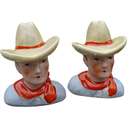 Cowboy Salt & Pepper Set