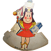 Little Lulu Kleenex Display 1956