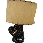 Ceramic Heart Lamp