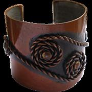 Rebajes Copper Cuff Bracelet