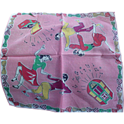 Rock  Roll Handkerchief