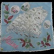 Maine State Handkerchief