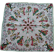 Indian Sari Ladies Men Handkerchief
