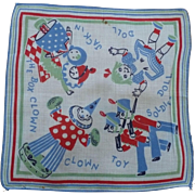 Child's Toy Handkerchief