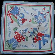 Child's Toy Handkerchief