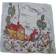 Lady Shoe Children's Handkerchief - Red Tag Sale Item