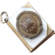 Book Locket Charm