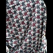 Italian Geometric Lining Fabric