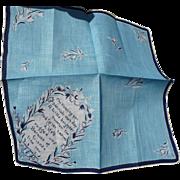 Vintage Friendship Handkerchief