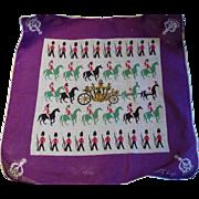Tammis Keefe Queen Elizabeth Coronation Handkerchief