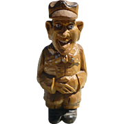 Naughty Carved Man Figure