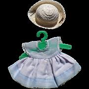Ginger Dress & Straw Hat