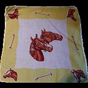 Horses Handkerchief