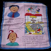 Max Moritz Handkerchief