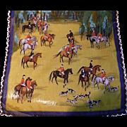 Equestrian Hunt Handkerchief
