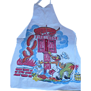 Fire Hose Naughty Man's Apron