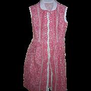 Cotton Pique  Dress