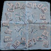 Jeanne Miller Matches Handkerchief