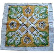 Embroidered Pillow  Deco Top